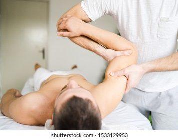 Arm and shoulder massage