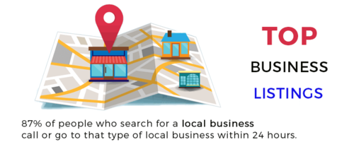 top local-business listings