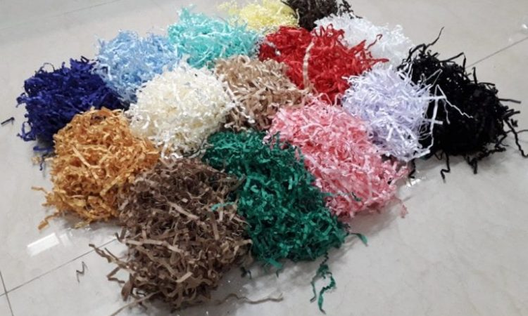 Multi Colored Shredded Paper