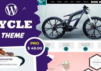 Bicycle WordPress Theme