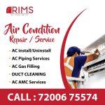 Air condition repair service